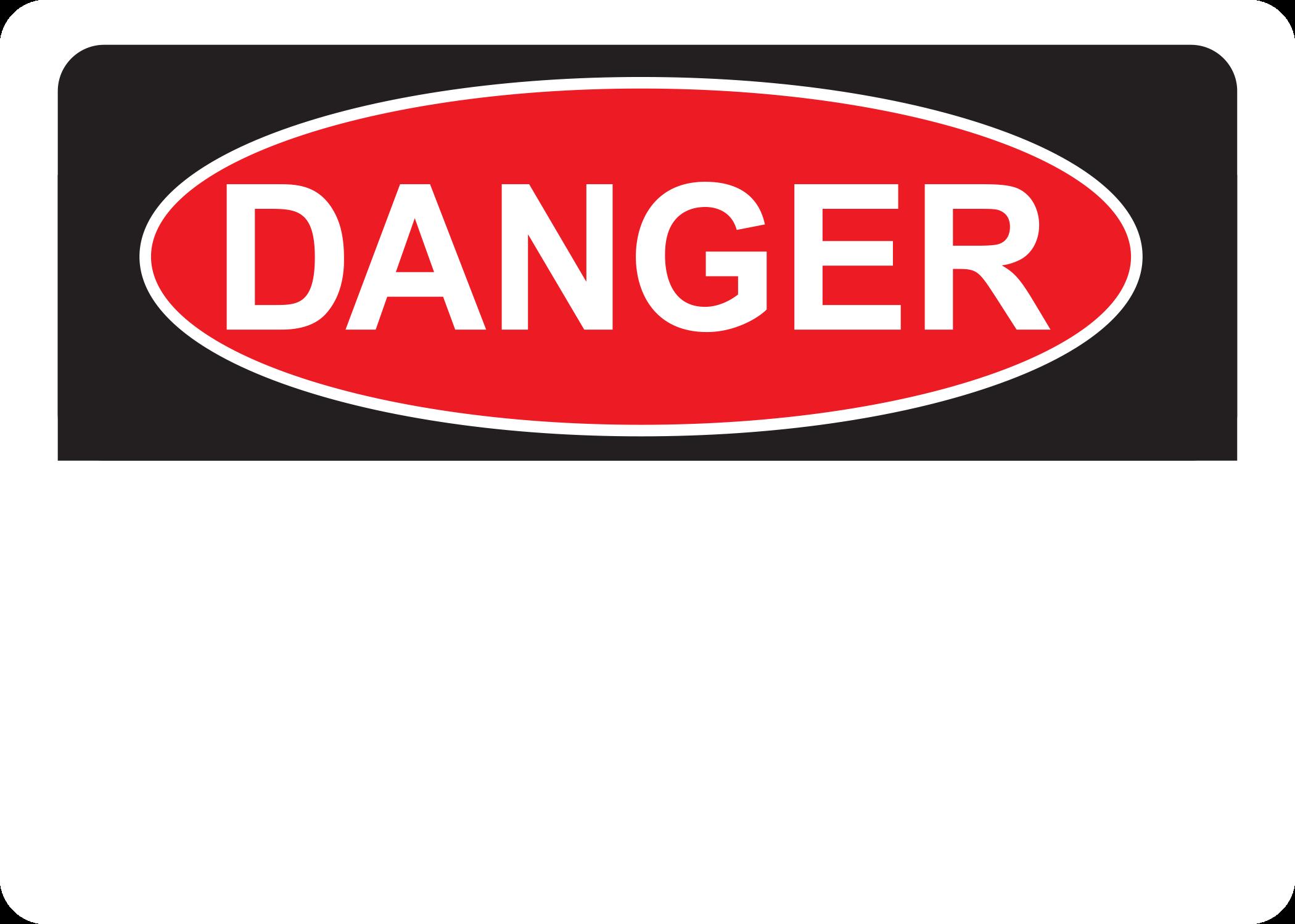 Danger Blank