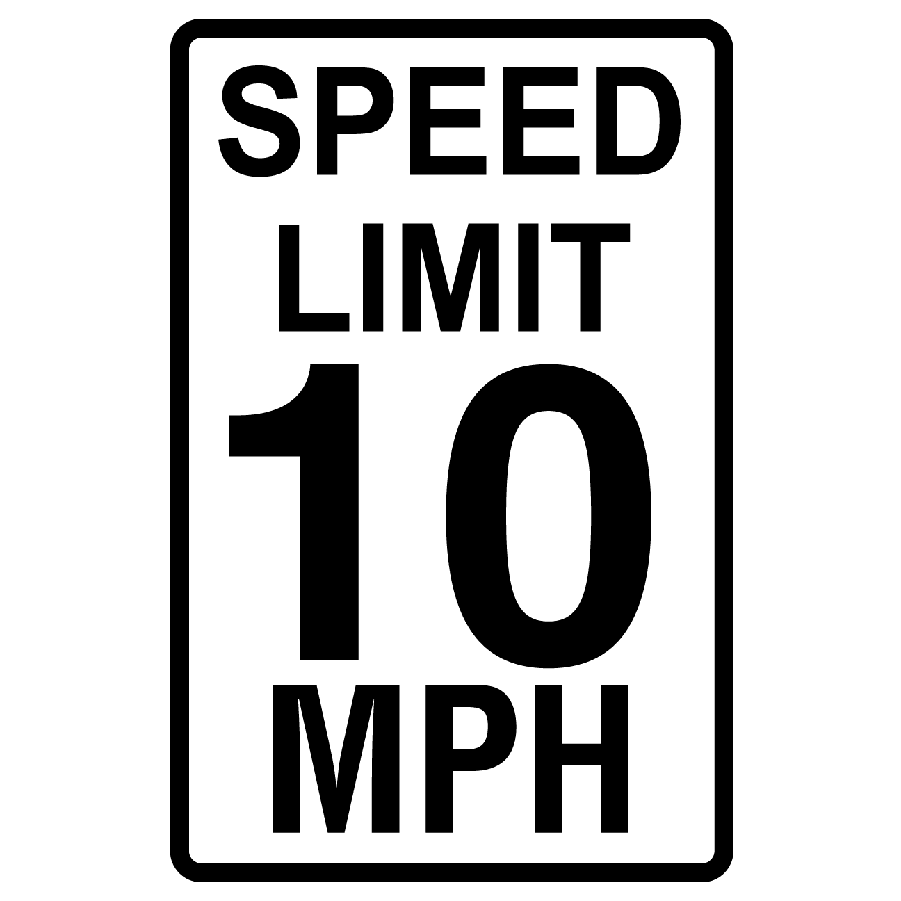 Speed Limit 10