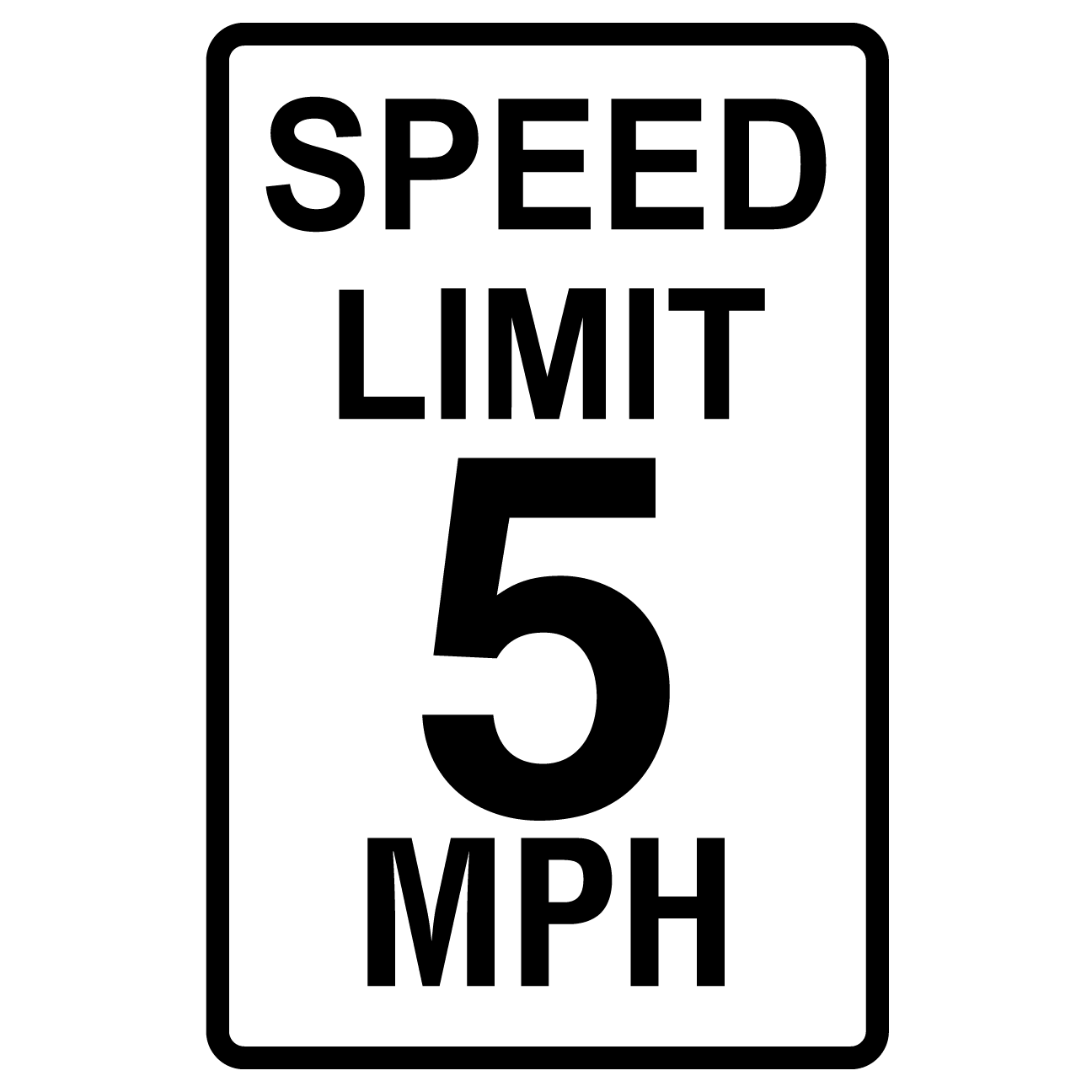 Speed Limit 5