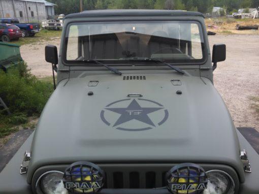 Olive Drab Jeep