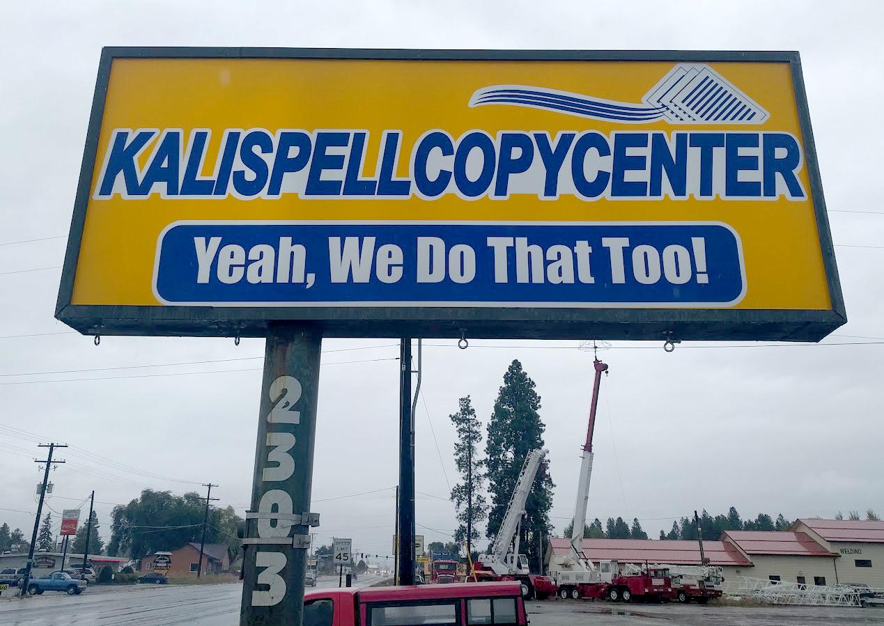 New KalCopy Backlit Sign